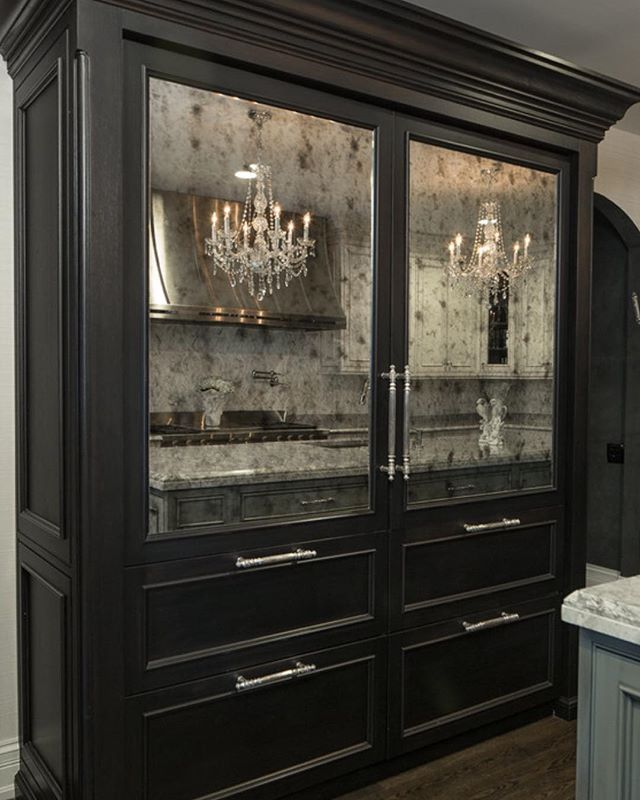 Kitchen Renovation Trends 2015 27 Ideas To Inspire: OMG THIS Is My Dream Fridge!! Antique Mirror And All. Who