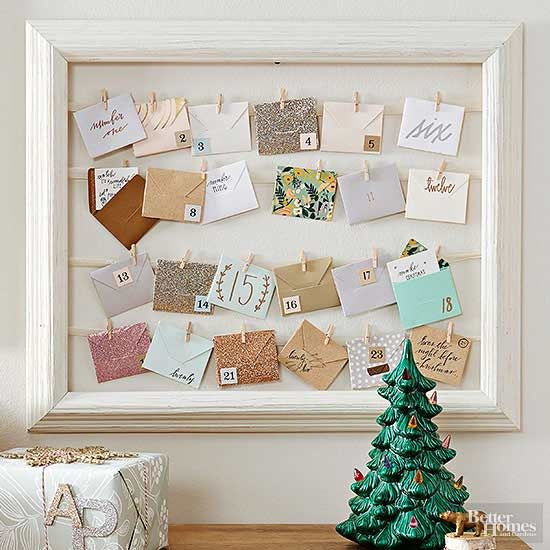 Adorable Ways to Decorate for the Holidays Advent calendars, Empty