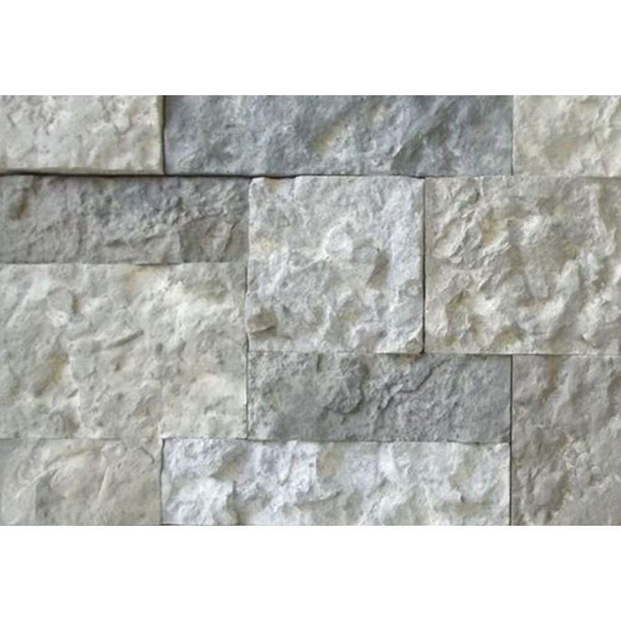 Airstone 8 square ft individual concrete stones in grays shale airstone 8 square ft individual concrete stones in grays shale and charcoal tones faux doublecrazyfo Choice Image