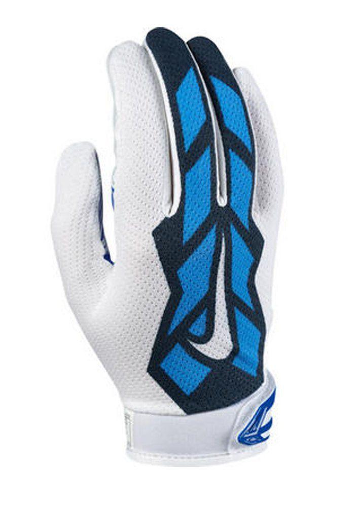 new arrivals 1c848 c16dc Amazon.com   Nike Youth Vapor Jet 3.0 Football Gloves, Royal, LG   Sports    Outdoors