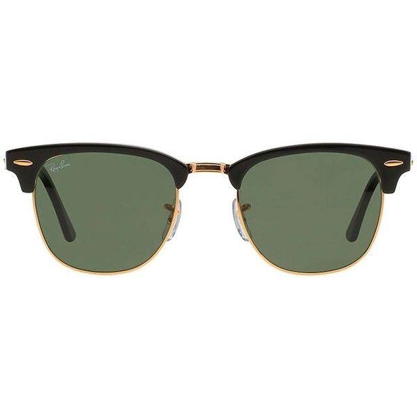 07a21b6ab ... shopping ray ban Óculos de sol unissex modelo clubmaster sunglass hut  170 14e97 ed773