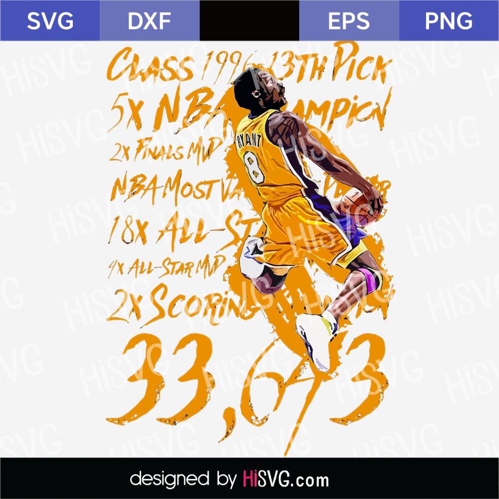Pin On Kobe Bryant Svg Png Ai Psd Eps [ 1000 x 1000 Pixel ]