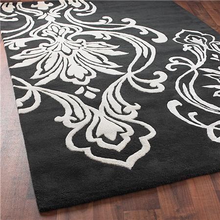 best 20 damask rug ideas on pinterest. Black Bedroom Furniture Sets. Home Design Ideas