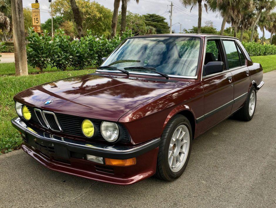 Euro 1984 Bmw 528i 5 Speed Bmw Bmw 528i Bmw E28