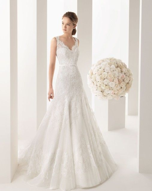 A Line Trumpet Styles Wedding Dress Elegant Yet Y Dresses
