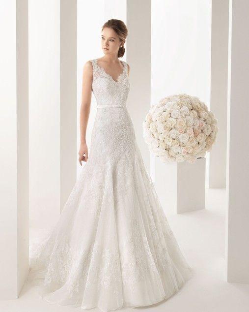 A Line Trumpet Styles Wedding Dress Elegant Yet Y Dresses