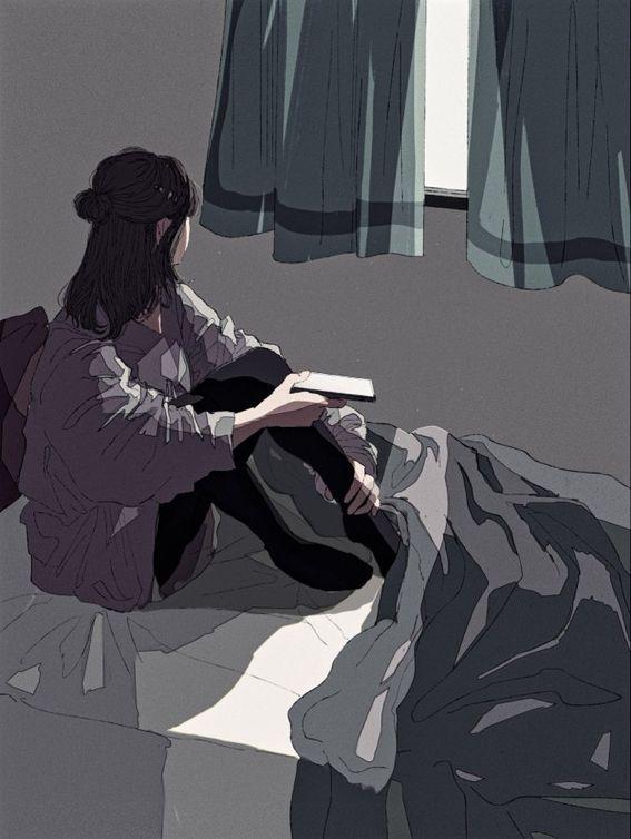 Pin Oleh Leily Vidya Di 34 Gambar Realistis Gambar Kehidupan Gadis Animasi