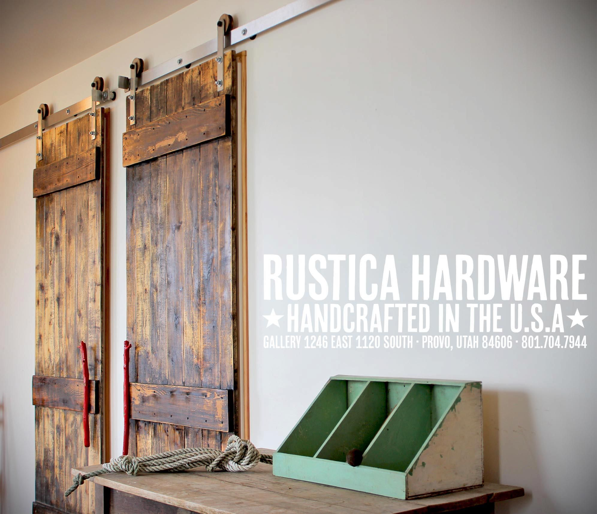 Ranch style barn doors for that rustic look. ://rusticahardware.com & Ranch style barn doors for that rustic look. http ... Pezcame.Com