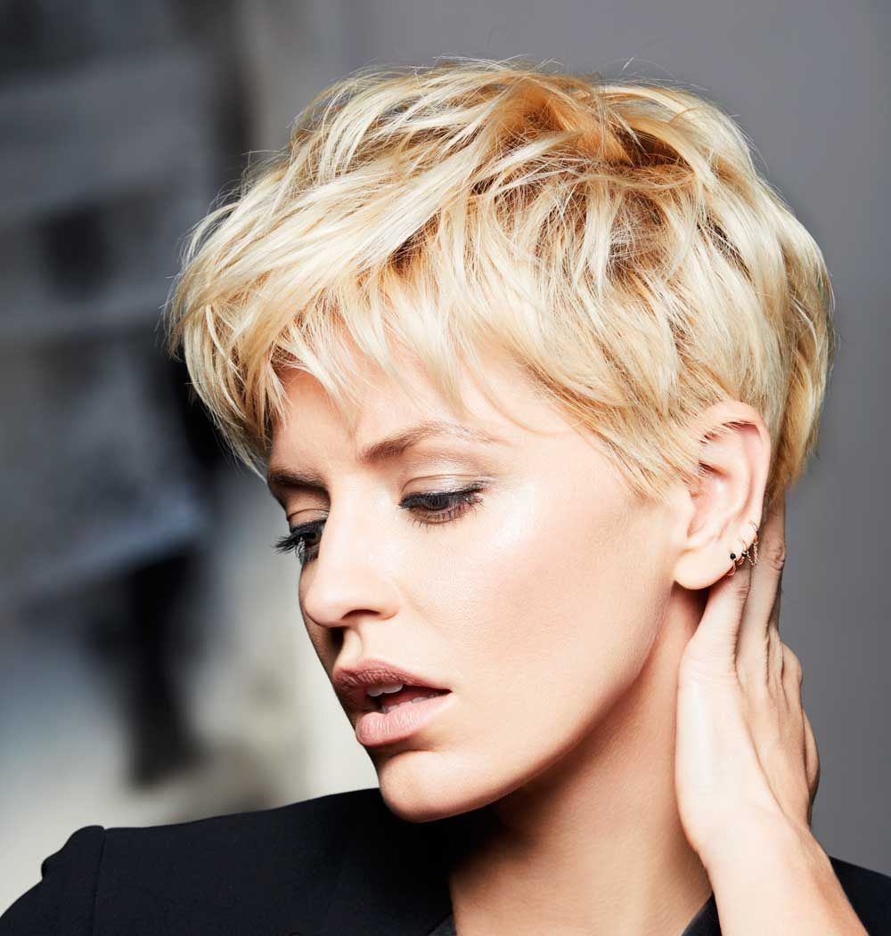 Taglio dei capelli corti 2018