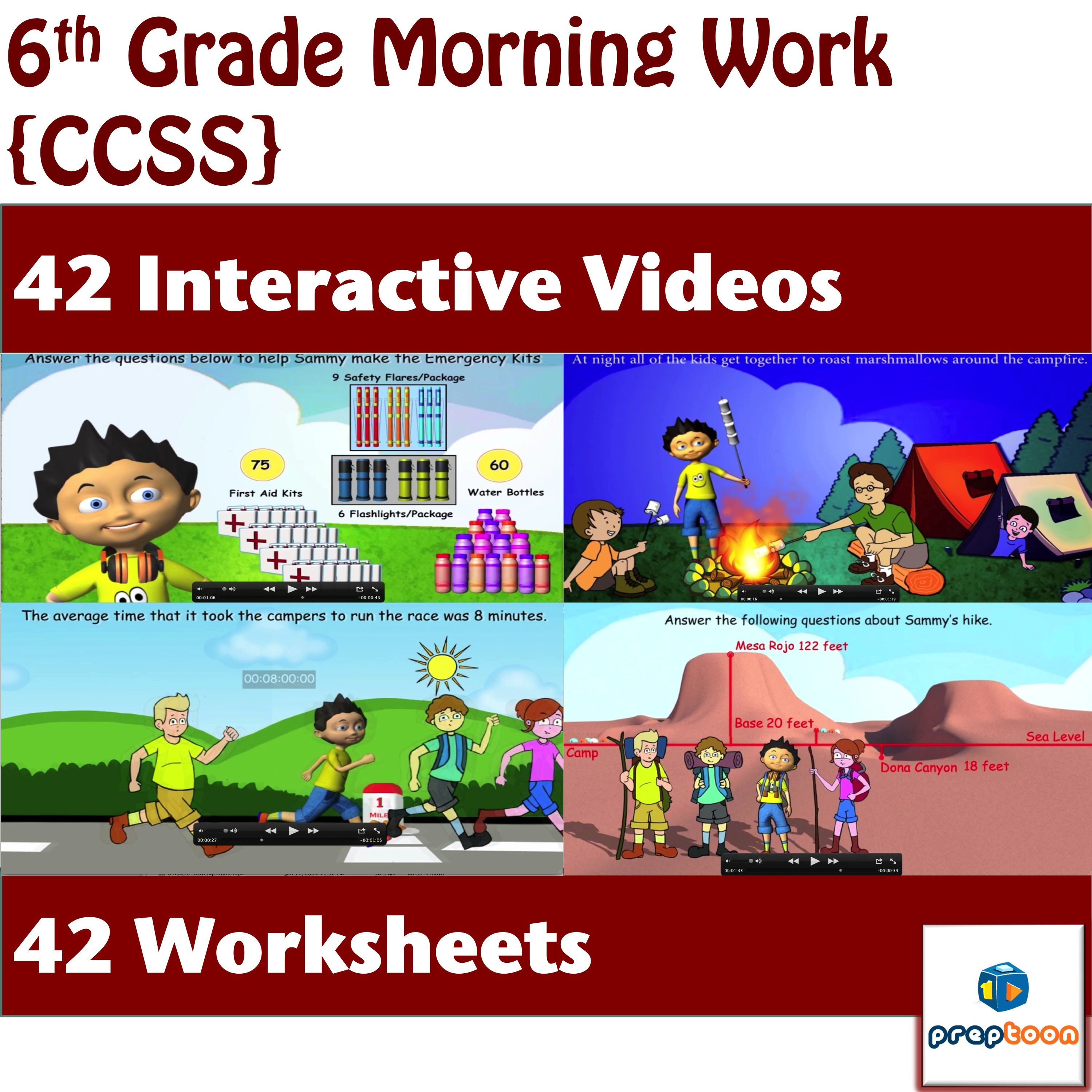 Morning Work Bell Ringers Review Activities Group