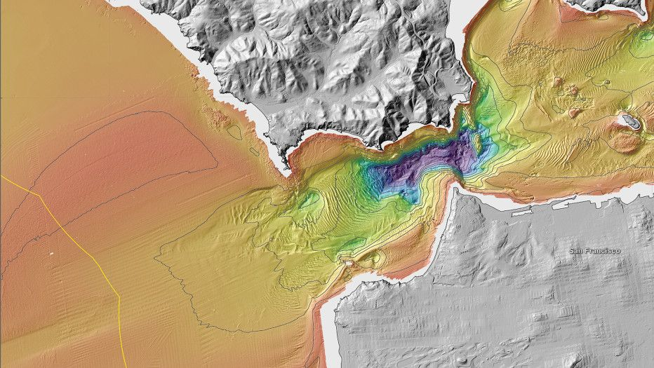 New Maps Reveal Californiau0027s Sensational Seafloor Geography
