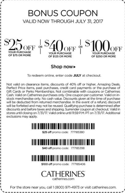 graphic relating to Catherines Printable Coupons referred to as Pin upon Printable and Inside of-Keep Coupon codes