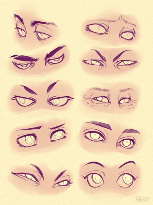Art Cartoon Disney Drawing Eyes Reference Tutorial Itslopez