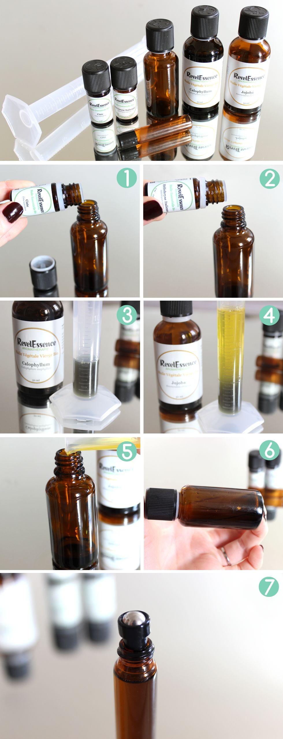 Comment r aliser soi m me la maison un roll on anti cernes bio et naturel base d 39 huiles - Masque anti cerne maison ...