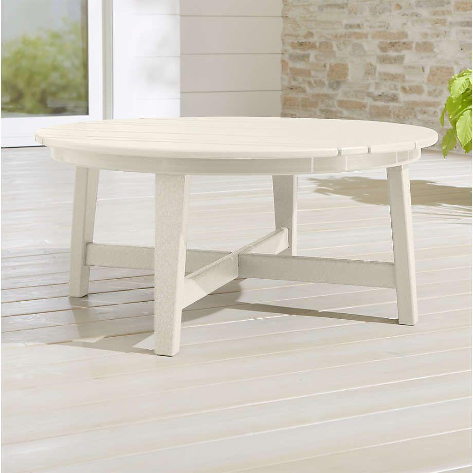 Vista Ii White Adirondack Coffee Table Reviews Crate And Barrel In 2021 Coffee Table Crate And Barrel Crate Table Coffee Table [ 920 x 920 Pixel ]