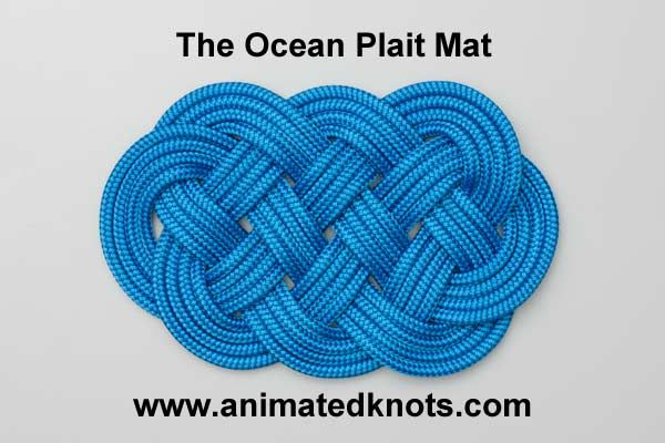 Tutorial On Ocean Plait Mat Tying Amazing Site For Knots From Decorative To Household