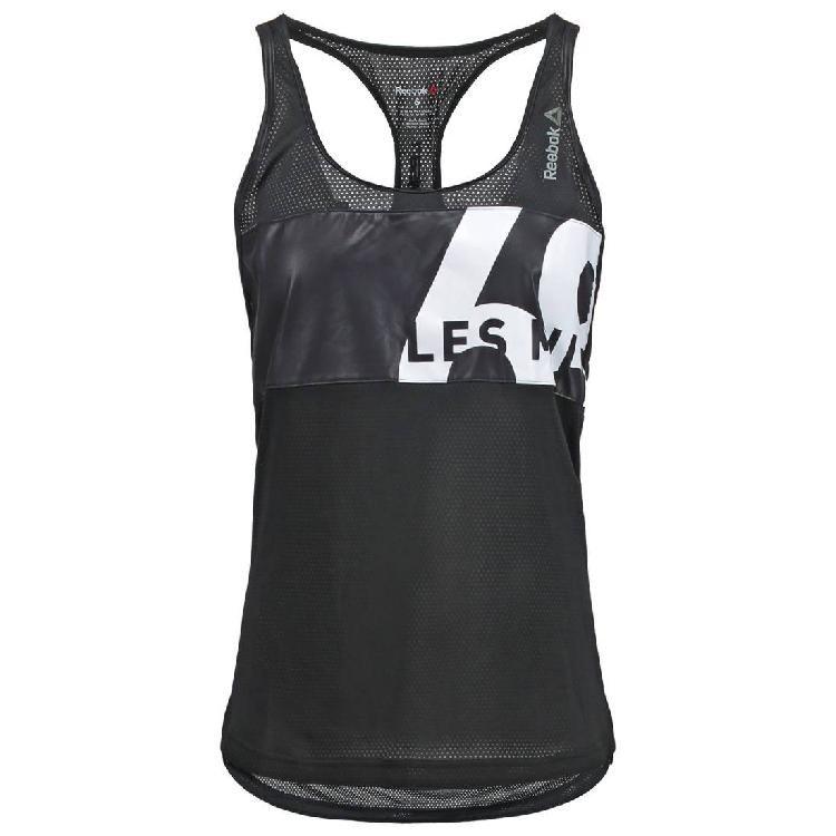 Débardeur femme Reebok Crossfit Short Sleeve Tee T-Shirt Entraînement Fitness Gym Course