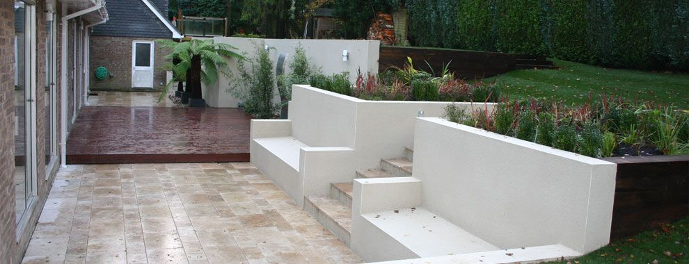 Contemporary Garden Design Garden Pinterest Garden Wall - garden wall designs uk