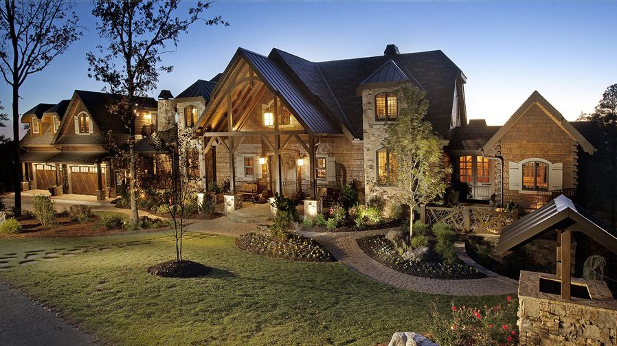 luxury lodge homes