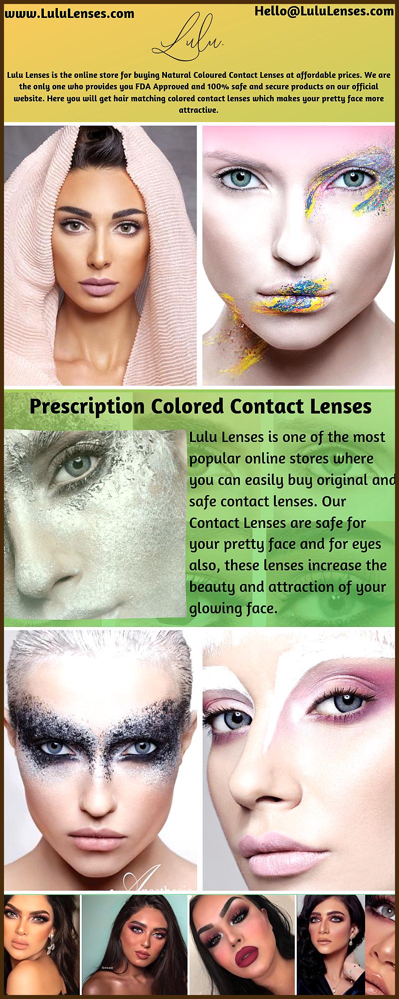Buy Prescription Colored Contact Lenses Through Lulu Lenses Buy Prescription Colo In 2020 Prescription Colored Contacts Contact Lenses Colored Contact Lenses Online