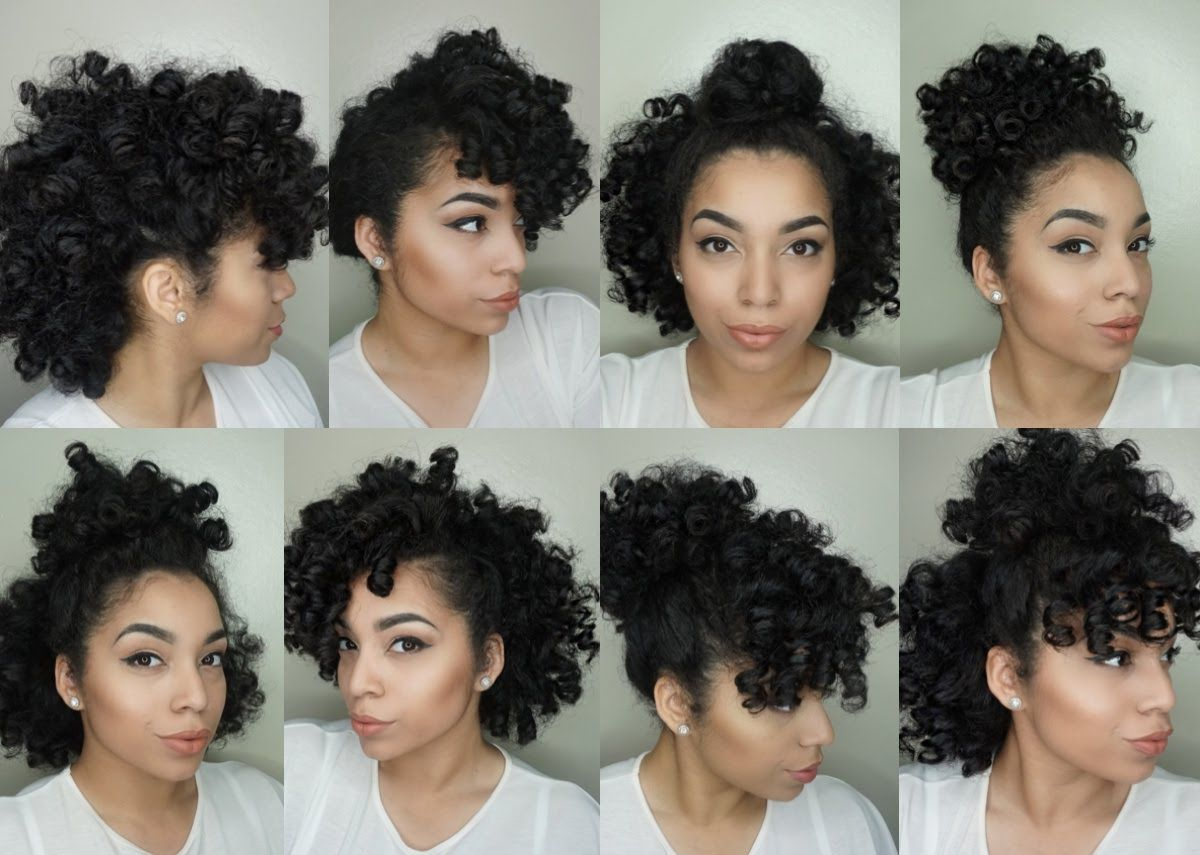 8 Hair Styles For Perm Rod Sets Natural Hair Black Hair Perm Permed Hairstyles Perm Rod Set
