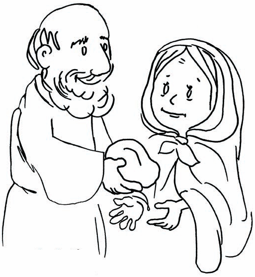 18++ Elijah and the widow of zarephath coloring page info