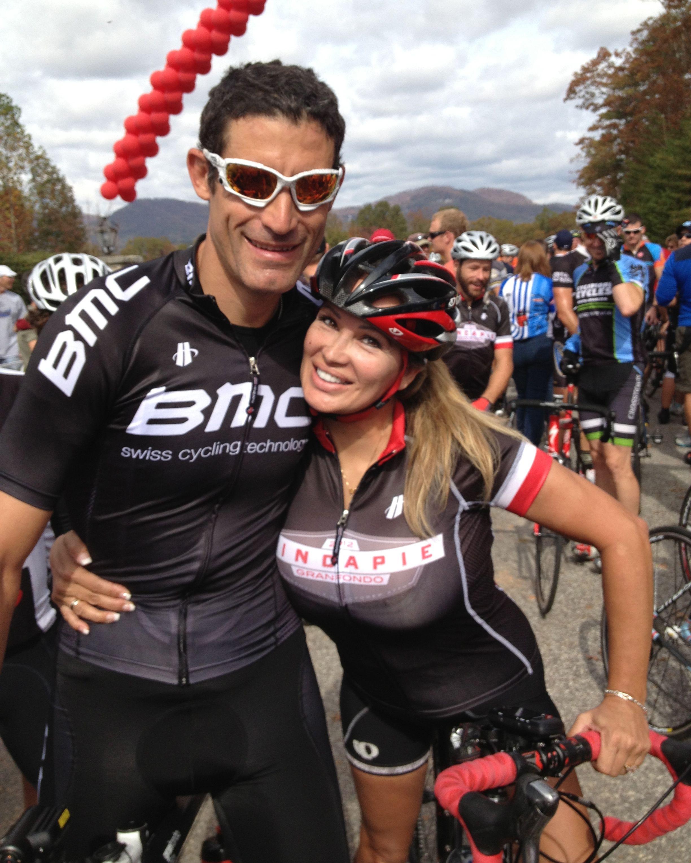 Lisa Christiansen ~ George Hincapie | Cycling shirt, Lisa, Triathlon