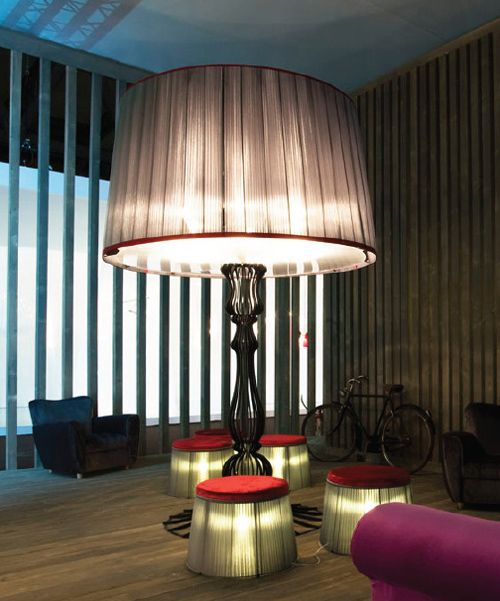 Contemporary floor lighting for socializing by italamp give your home a dose of desired drama with this contemporary collection of floor lighting by italamp the victor and victoria are striking floor lamp des aloadofball Image collections