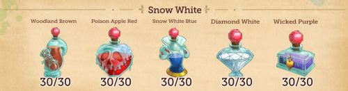 Because I've already finished all the worlds in Disney Hidden Worlds and I have nothing better to do with my life. I'm trying to get the maximum amount of each ink you can get. Just got done with Snow White, now onto Brave!