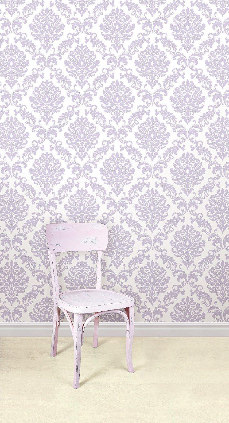 Purple Ariel Peel And Stick Wallpaper Nuwallpaper Peel And Stick Wallpaper Purple Bedding