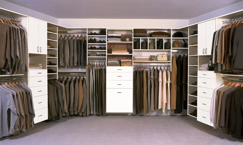 Perfect Large White Walk In Closet By Classy Closets. Utilize Your Closet Space,  Schedule