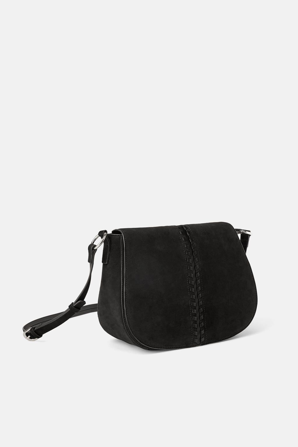 f19bfd0d29 Image 2 of LACED SPLIT SUEDE CROSSBODY BAG from Zara | Accessories ...