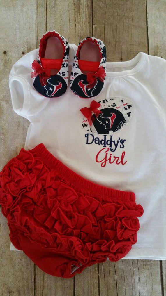 83c55eab3 Houston Texans Inspired Daddys Girl Shirt