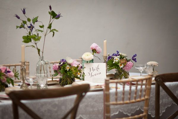 Ooooh La La, A Little French Country Style Romantic Wedding | French ...
