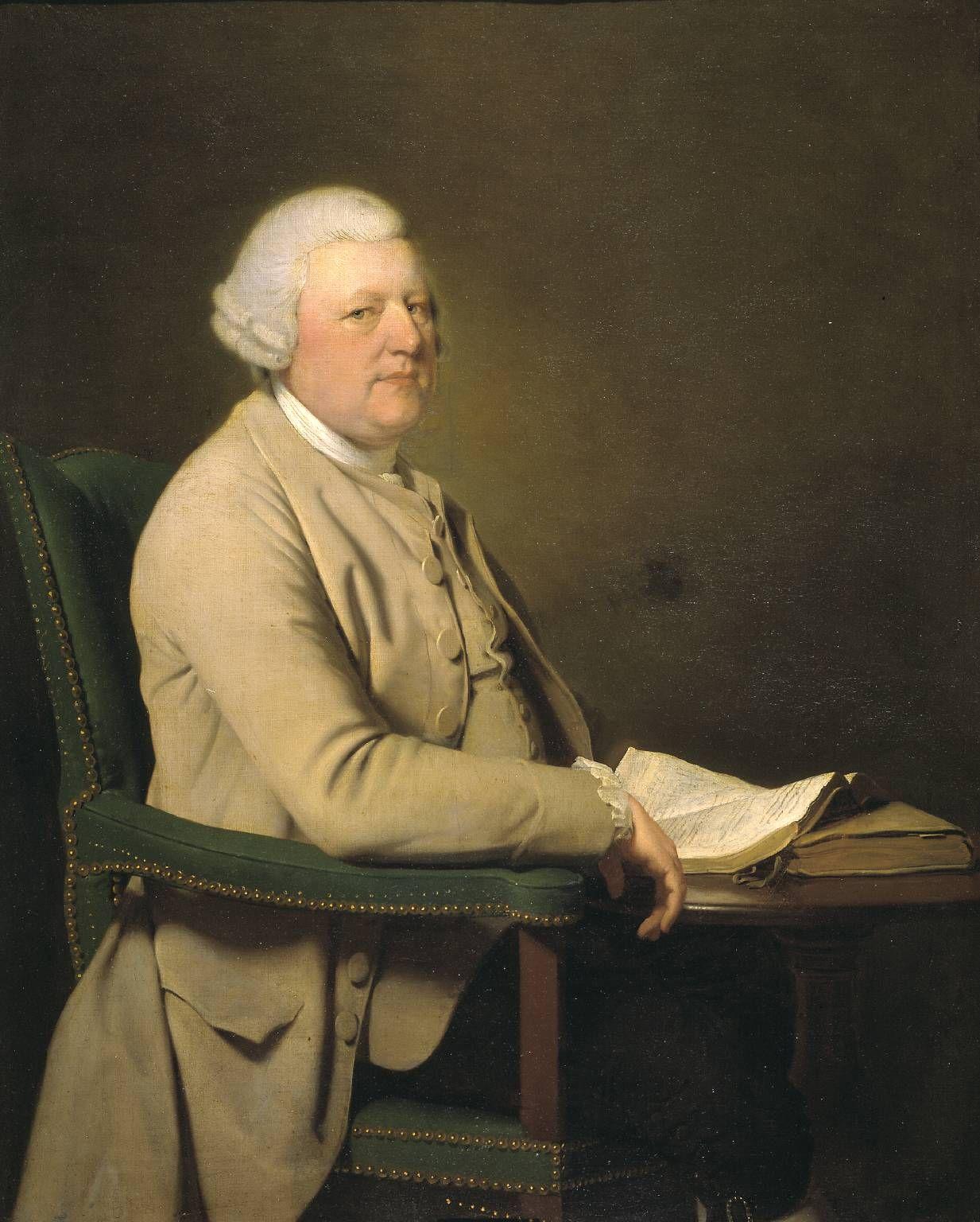 Richard Cheslyn, by Joseph Wright of Derby