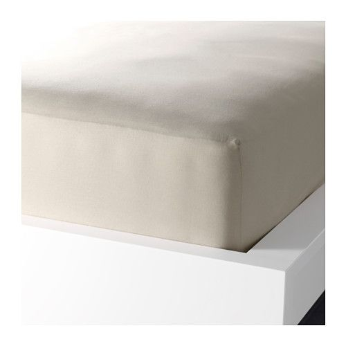 drap housse pour matelas 26 cm DVALA Drap housse IKEA Le coton est doux et agréable contre la  drap housse pour matelas 26 cm