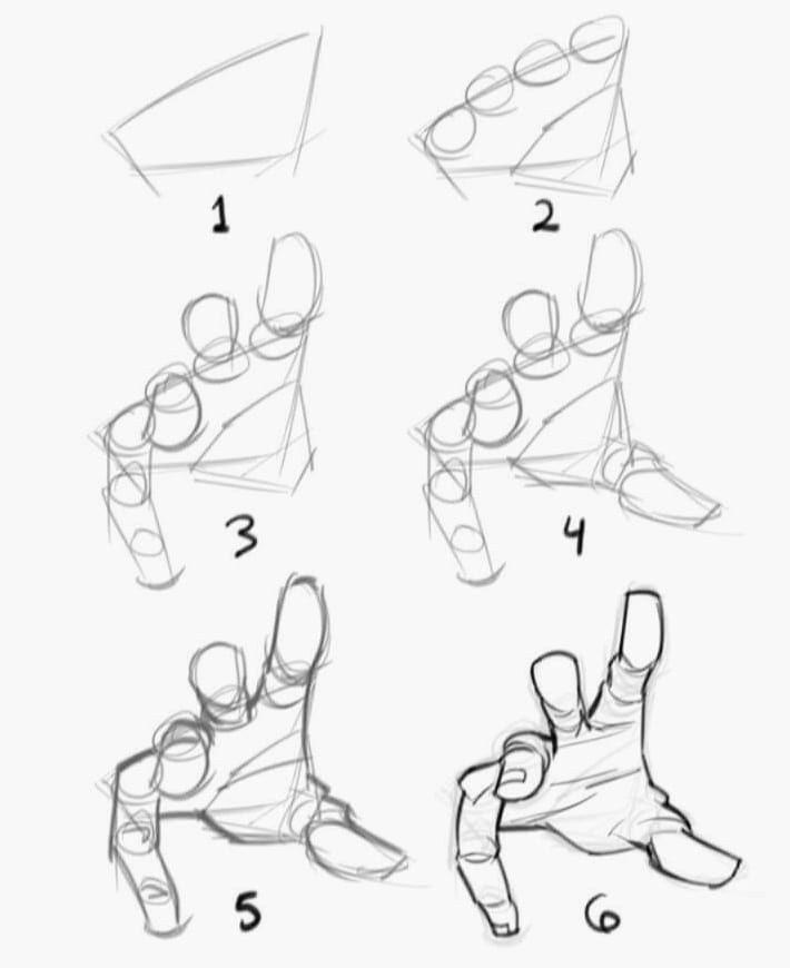 Aprende A Dibujar Manos Paso A Paso Con Estos Consejos Curso Gratis De Dibujo Como Dibujar Manos Como Dibujar Anime Manos Tutoriales De Dibujo A Lapiz