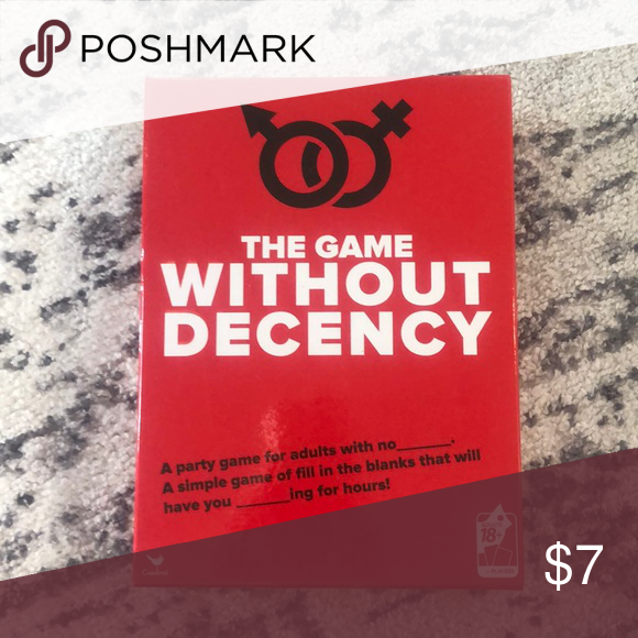 The Game Without Decency Board Game Other Simple Game Board Games Decency