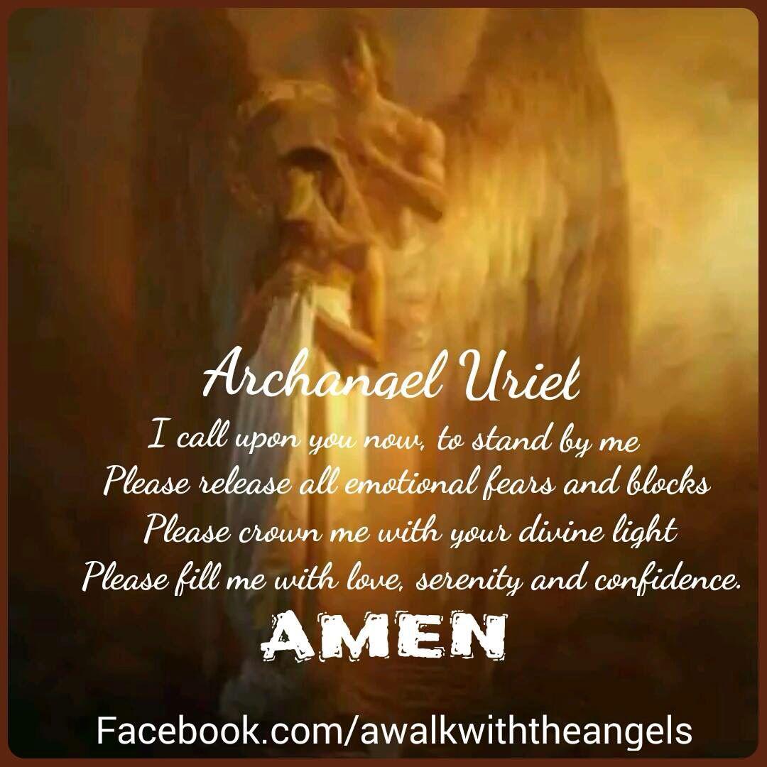 Archangel Uriel Prayer