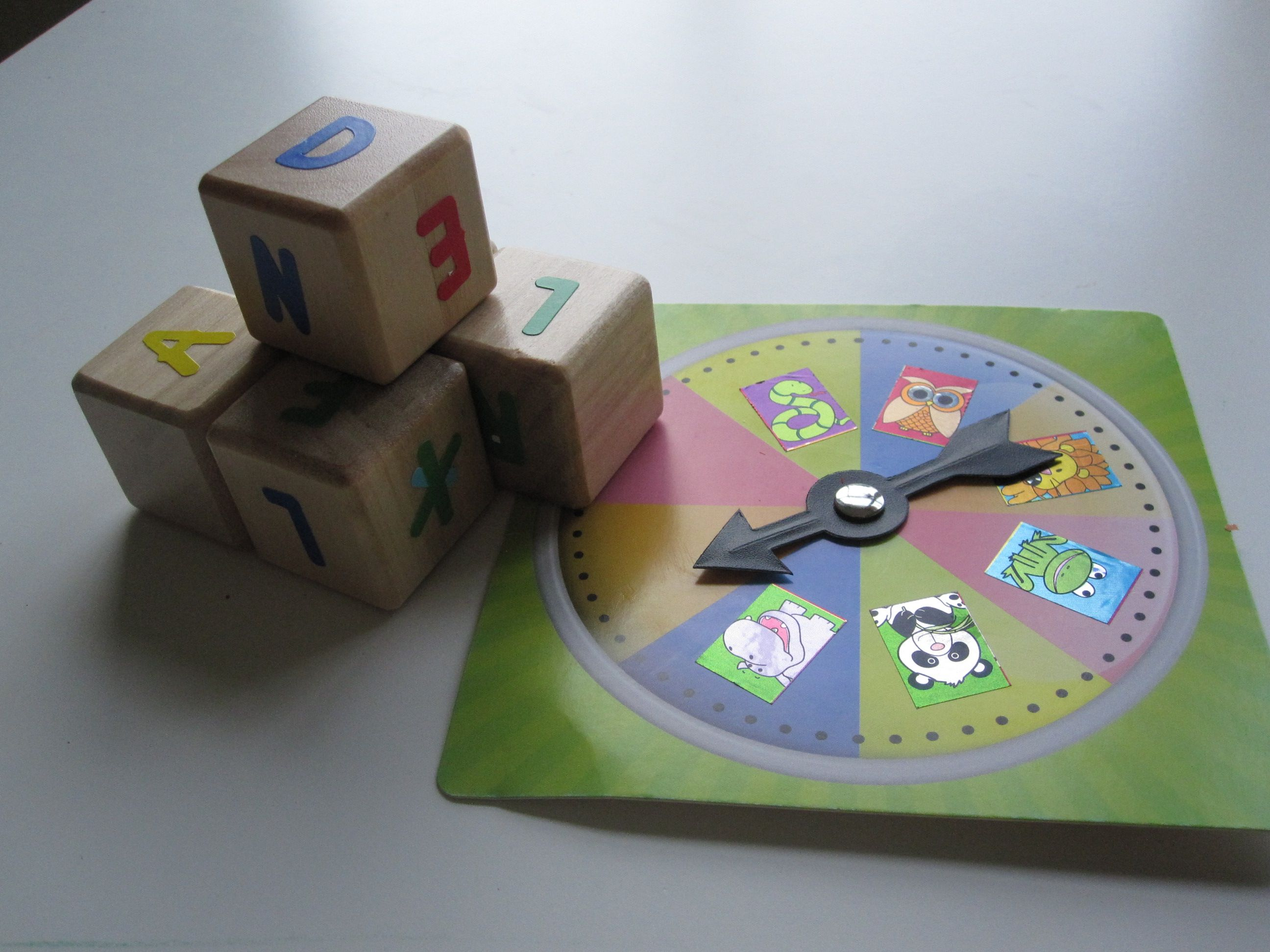 Spin and Spell Spelling Activity For Kids Spelling