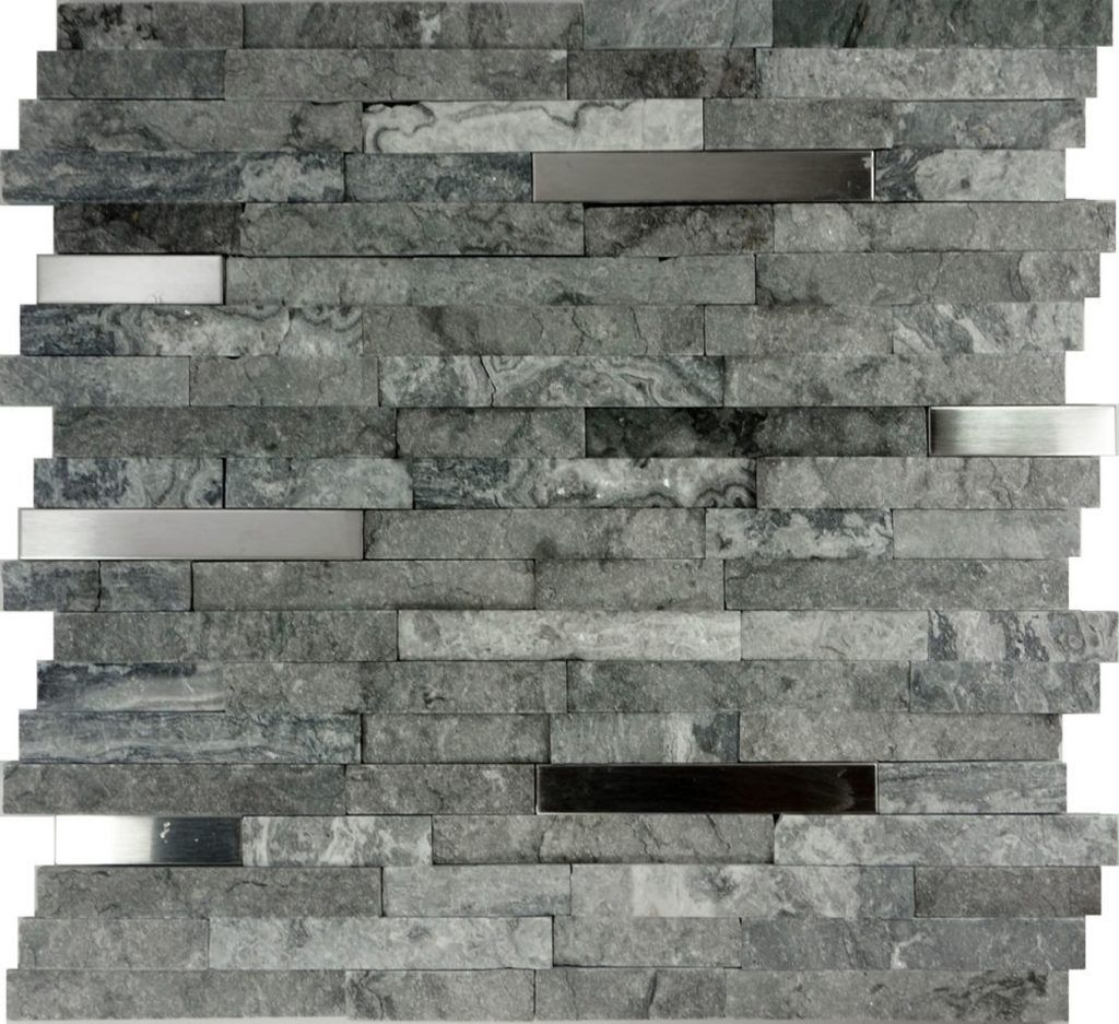- Design: Natural Stone Mosaic Backsplash Backsplash Subway Tile