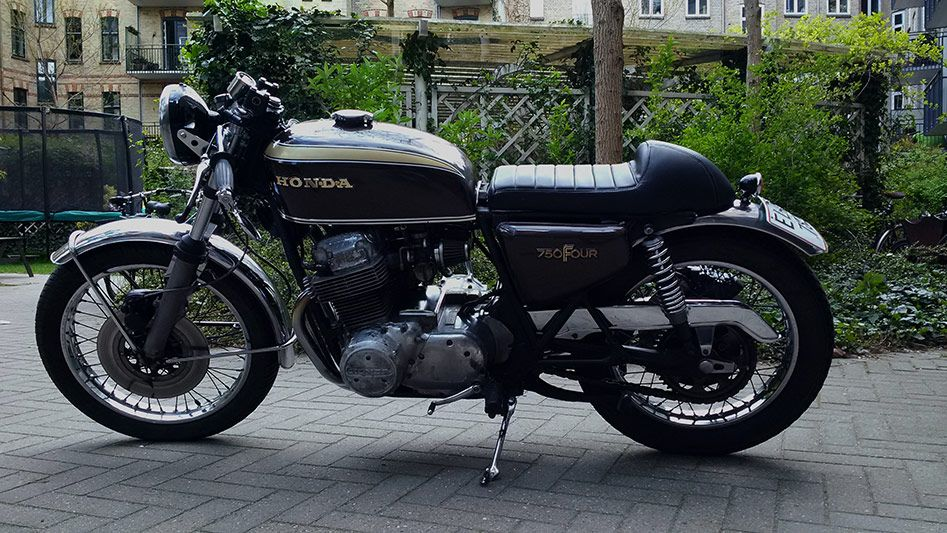 Cafe Racer Seat On Honda Cb750 Four Supersport 77 Motorcycles