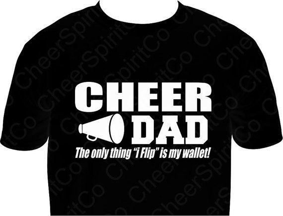 eb3aa38e5e Pin by Samantha Todd on cheerleading   Cheer mom shirts, Cheer dad ...