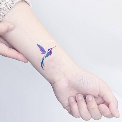 Photo of Kleine Aquarell Kolibri Schulter Tattoo-Ideen für Frauen – schöne …