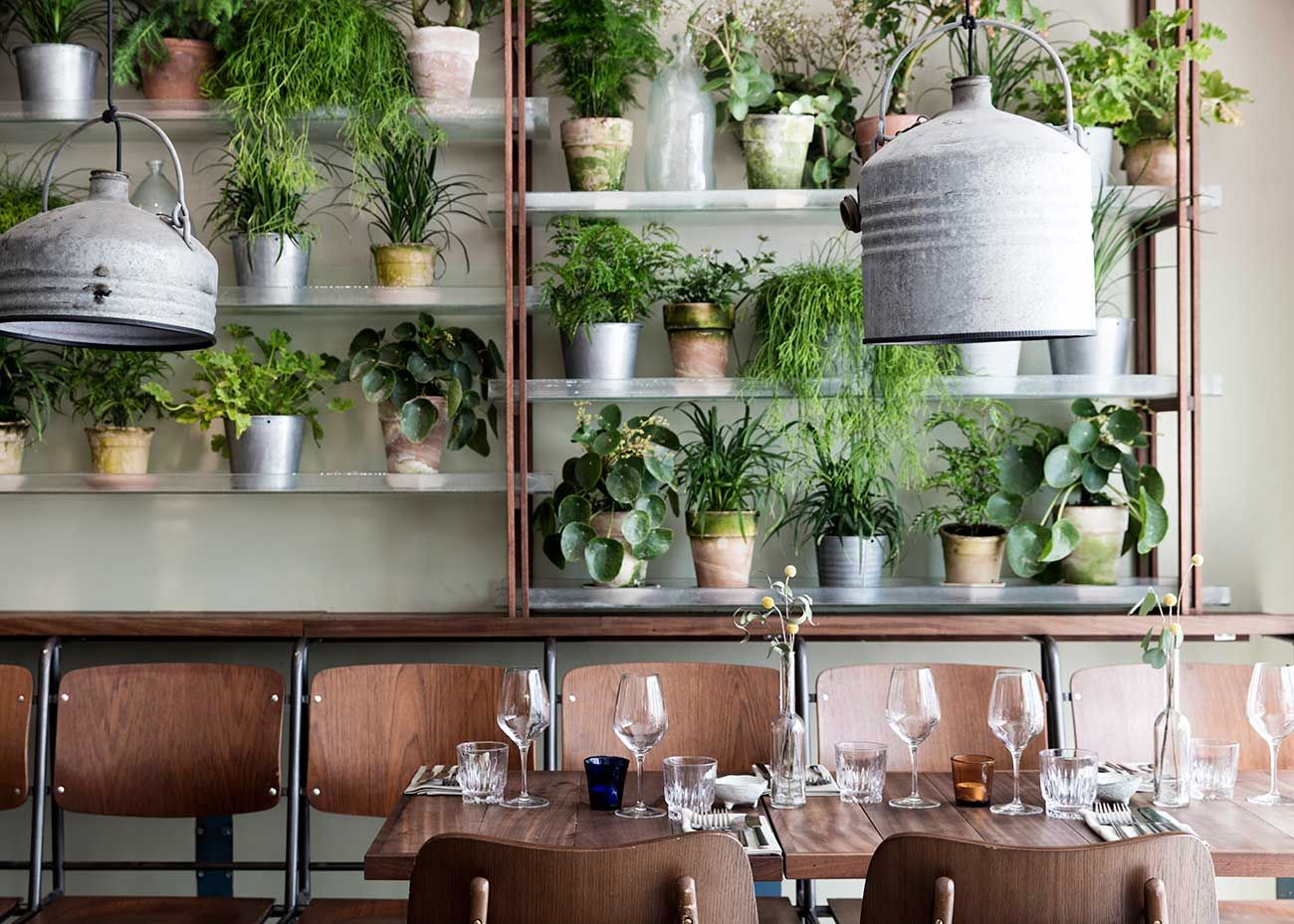 new green restaurant väkst in copenhagen (ems designblogg) | best