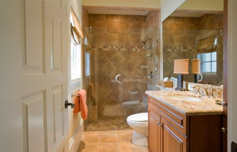 Cuarto De Baño Mueble Madera Decoración Pinterest - Chesapeake bathroom remodeling
