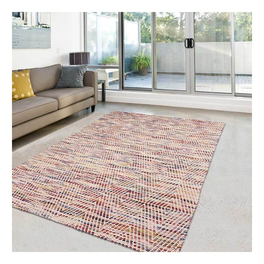 Unamourdetapis Tapis De Salon Tapis Moderne Design Multimulta Coton 60 X 110 Cm Contemporary Deco Decor