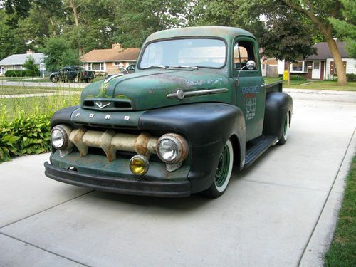 1952 Ford F1 Pickup Rat Rod Image 1 With Images 1952 Ford