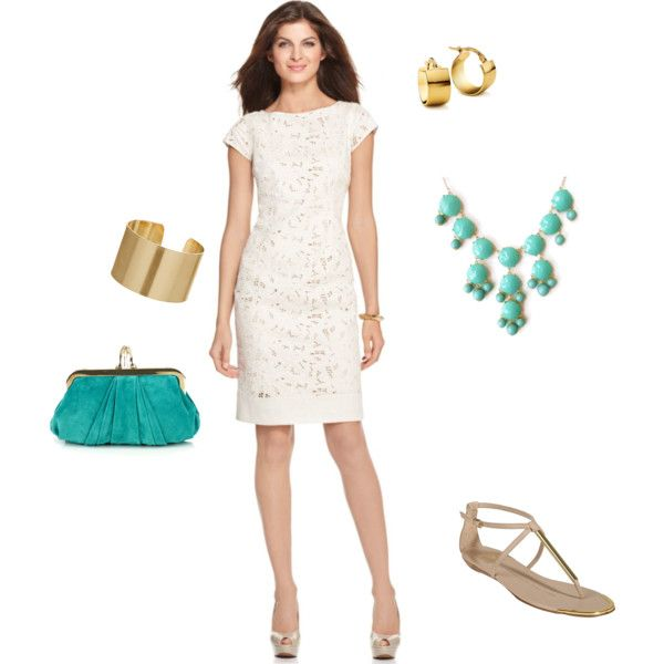 Beach Wedding Guest By Khcornett On Polyvore Featuring