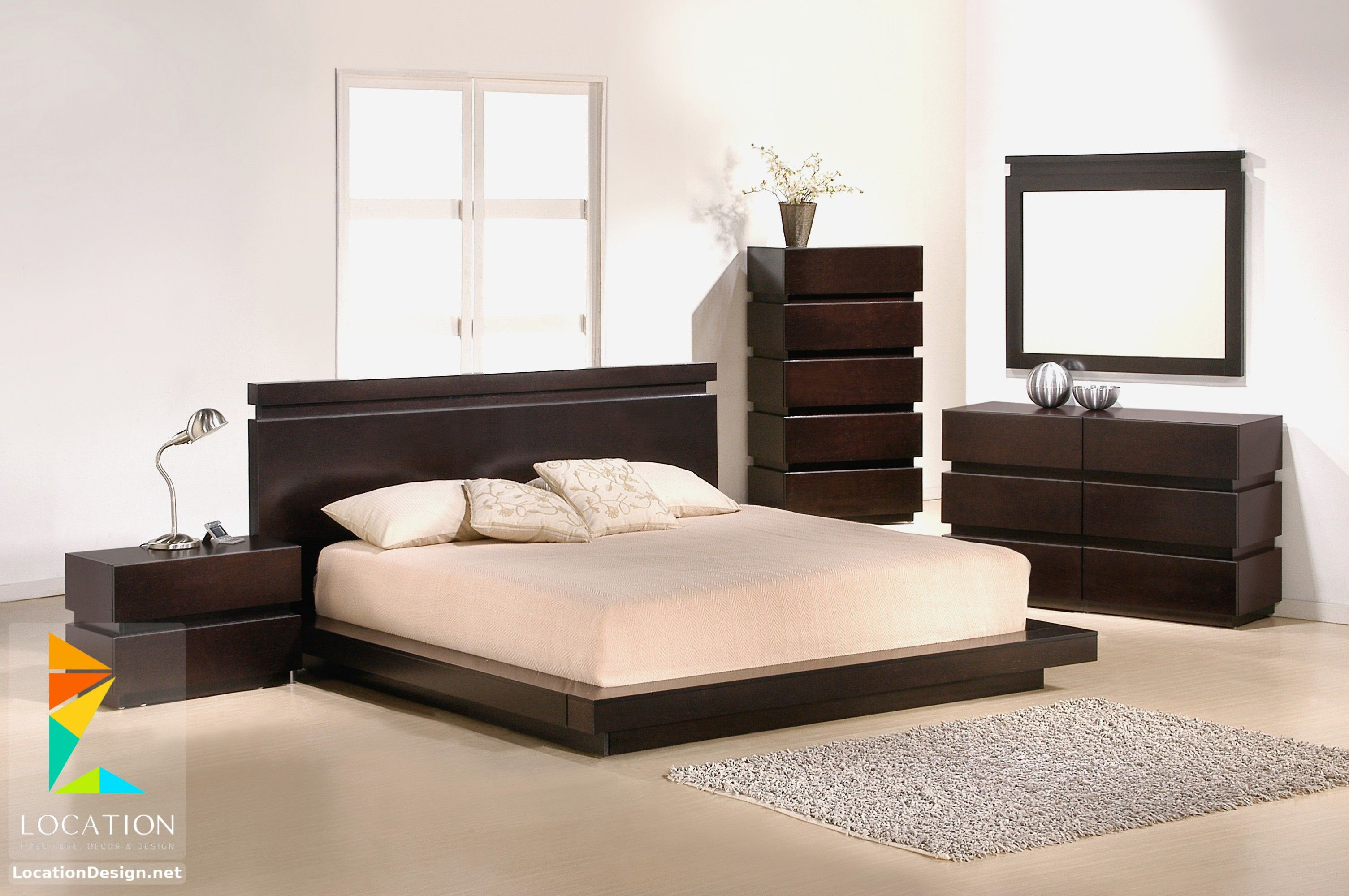 ديكورات غرف نوم صغيرة وبسيطة لوكشين ديزين نت Platform Bedroom Sets Modern Bedroom Furniture Sets Modern Bedroom Set